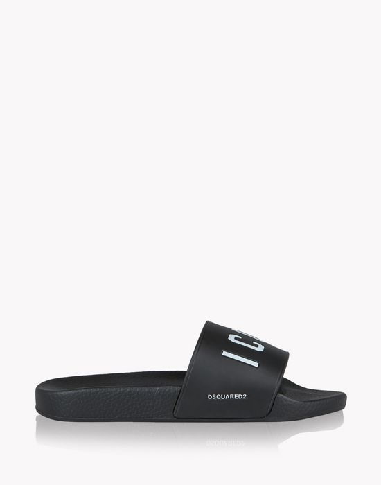 icon slides shoes Woman Dsquared2