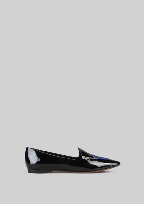 PATENT BALLET FLATS: Ballet Flats Women by Armani - 1