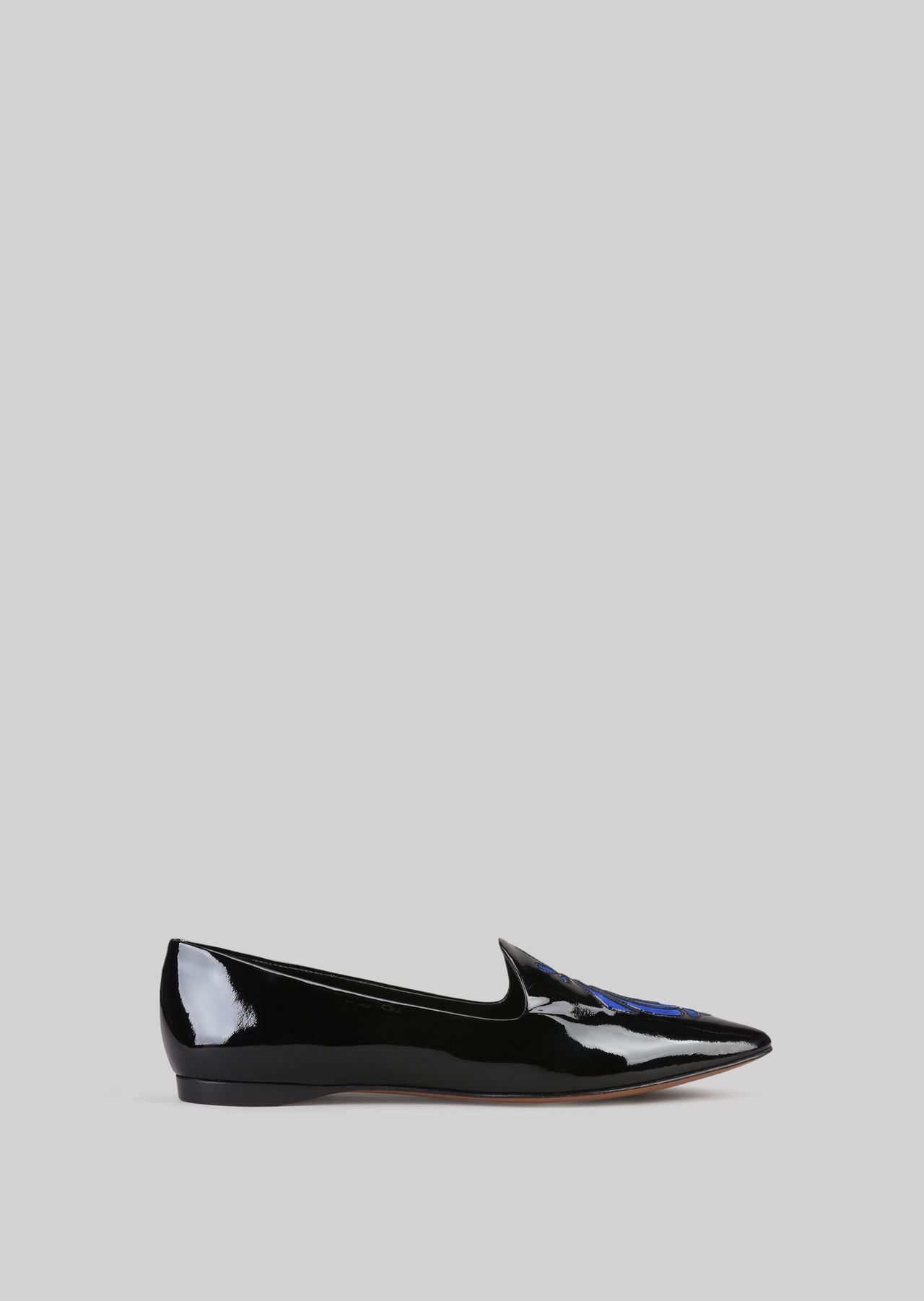 PATENT BALLET FLATS: Ballet Flats Women by Armani - 0