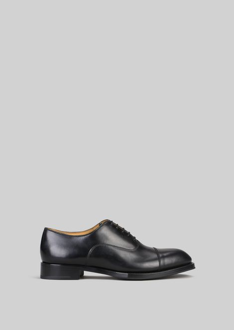LEATHER LACE-UPS : Lace-ups Men by Armani - 1