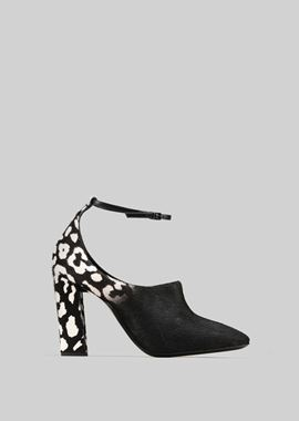 Armani Pumps Women pumps in pony skin with strap