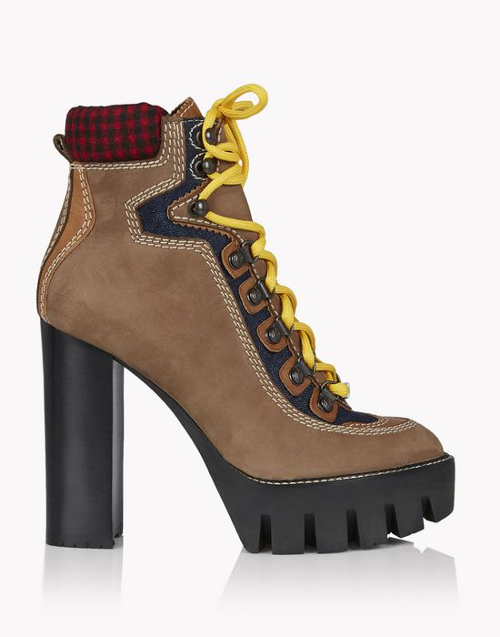 canada hiking ankle boot calzado Mujer Dsquared2