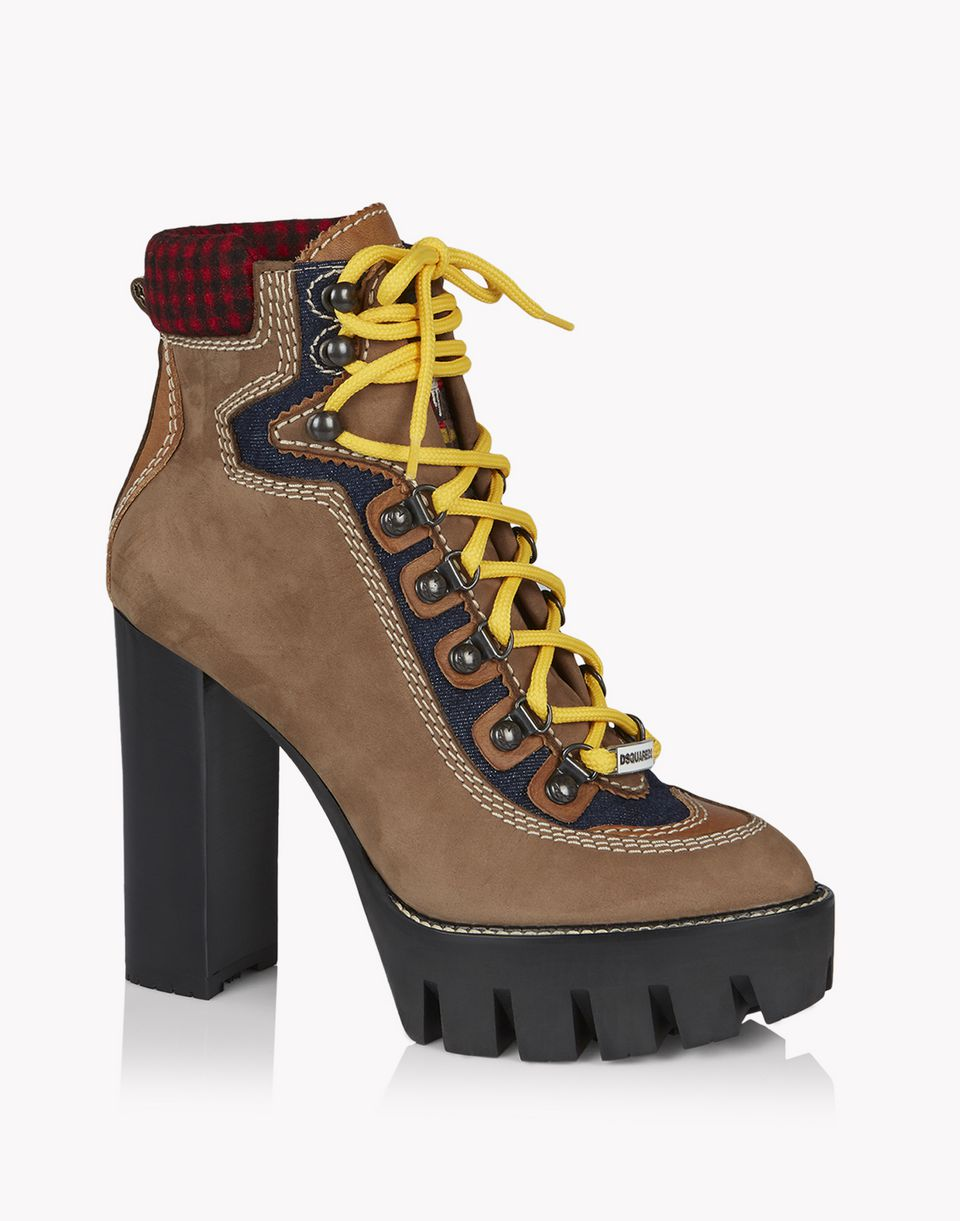 canada hiking ankle boot shoes Woman Dsquared2