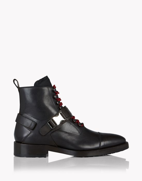 chic mountaineer ankle boots shoes Man Dsquared2