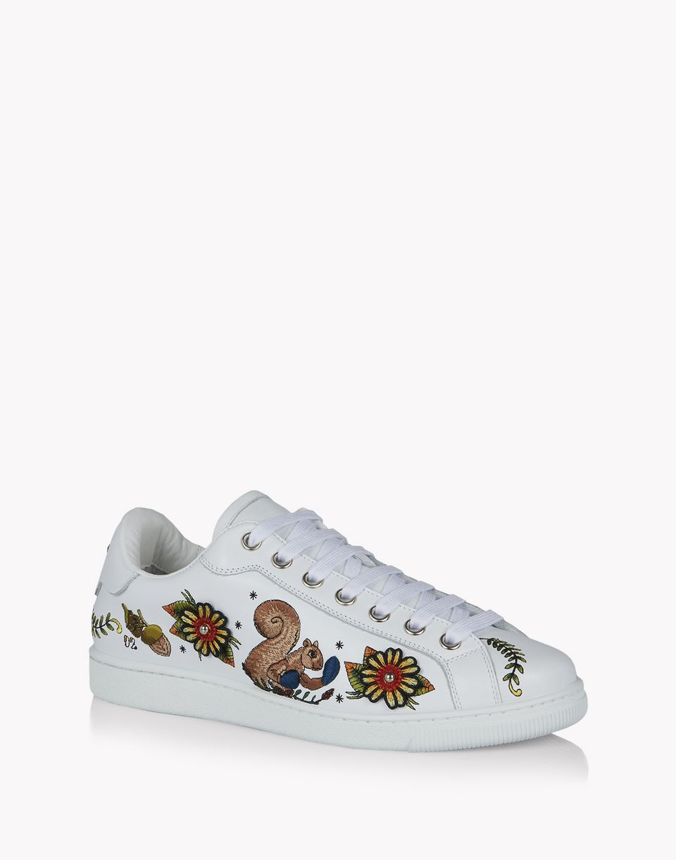 embroidered santa monica sneakers shoes Man Dsquared2
