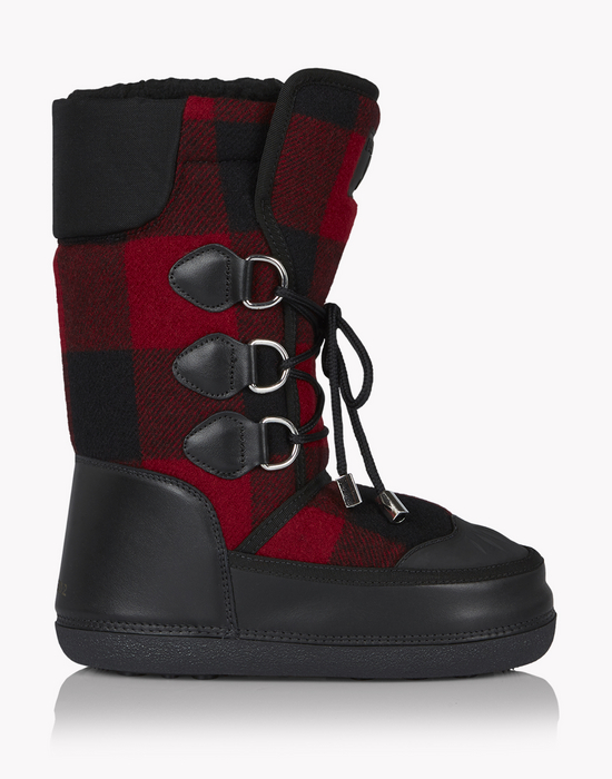 check snow boots schuhe Herren Dsquared2