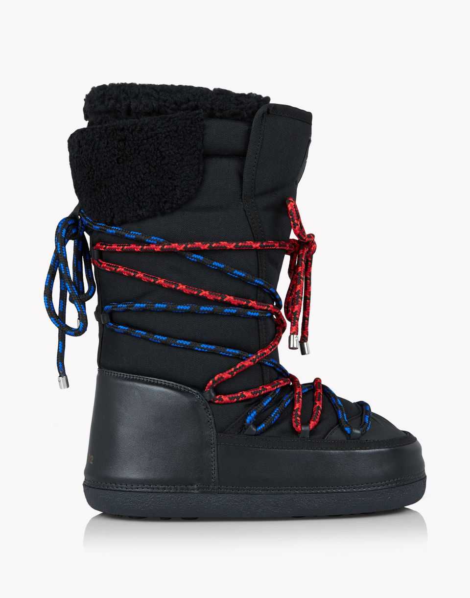 techno cord snow boots shoes Man Dsquared2