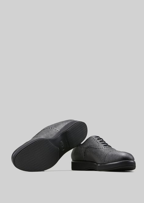 LEATHER BROGUES : Lace-ups Men by Armani - 5