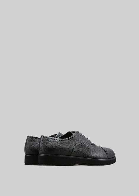 LEATHER BROGUES : Lace-ups Men by Armani - 3