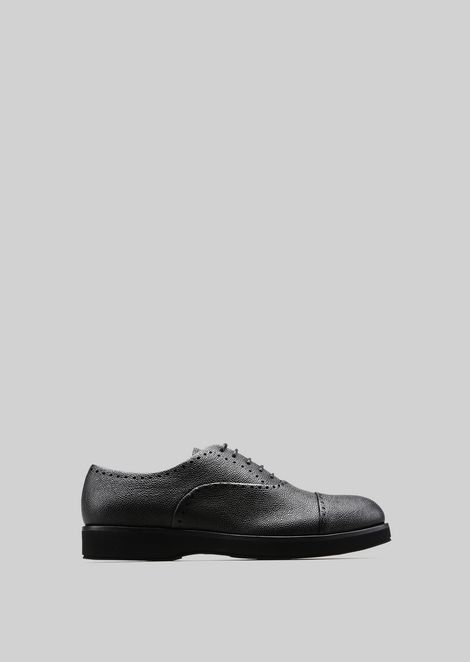 LEATHER BROGUES : Lace-ups Men by Armani - 1