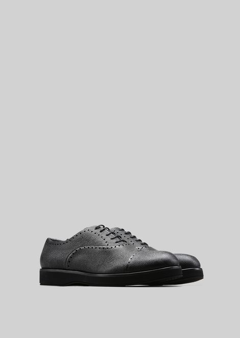 LEATHER BROGUES : Lace-ups Men by Armani - 2