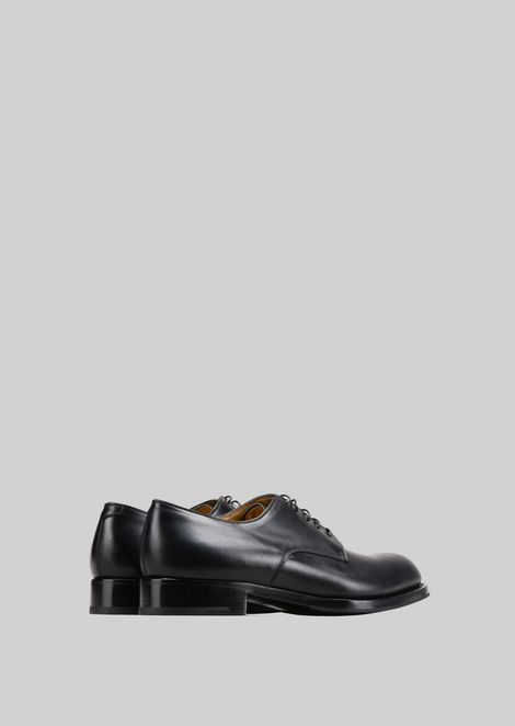 LEATHER LACE-UPS : Lace-ups Men by Armani - 3