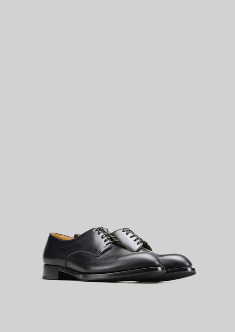 LEATHER LACE-UPS : Lace-ups Men by Armani - 2
