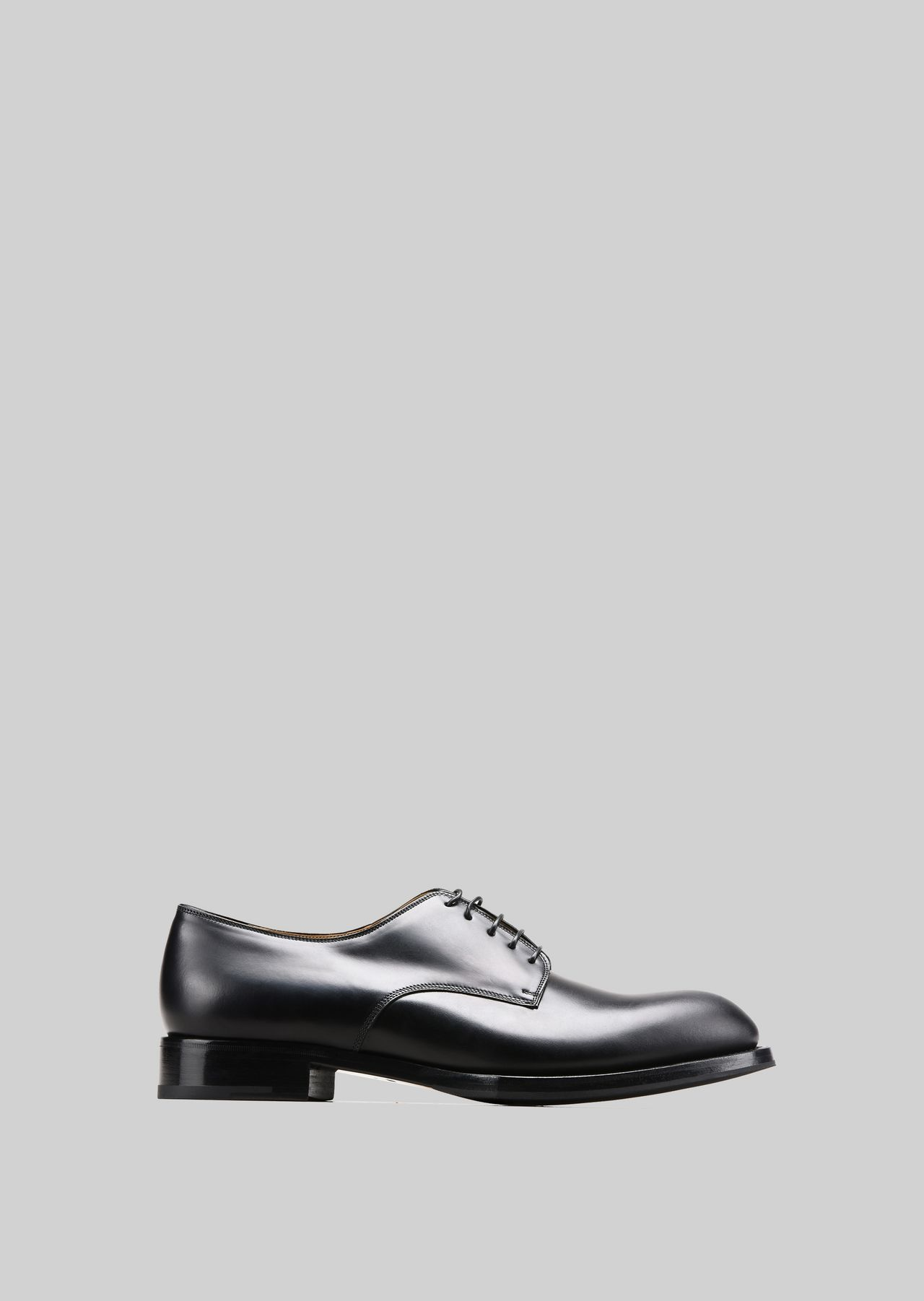LEATHER LACE-UPS : Lace-ups Men by Armani - 0