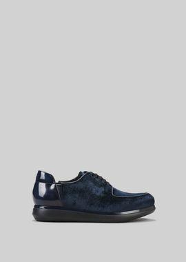 Armani Lace-ups Men velvet sneakers