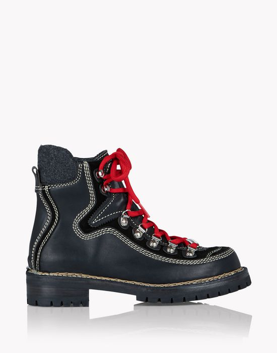 canada hiking ankle boots shoes Woman Dsquared2