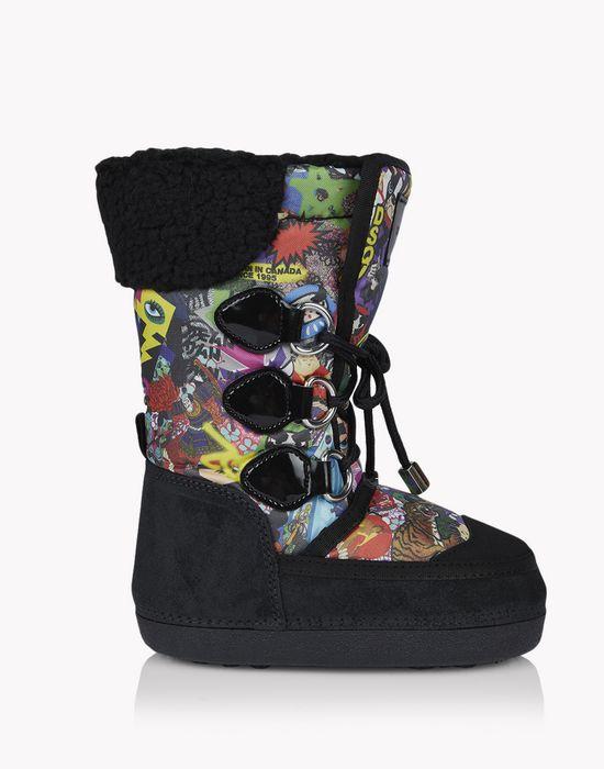 manga snow boots schuhe Herren Dsquared2