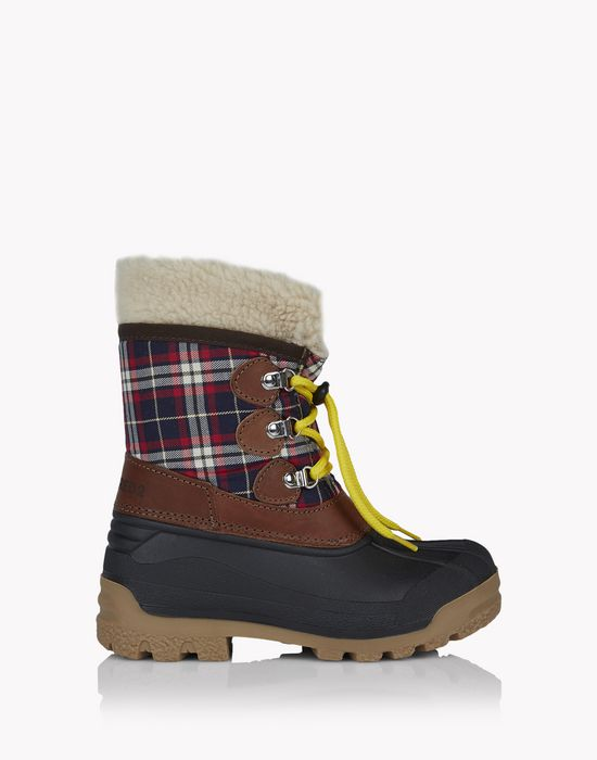 check boots shoes Man Dsquared2