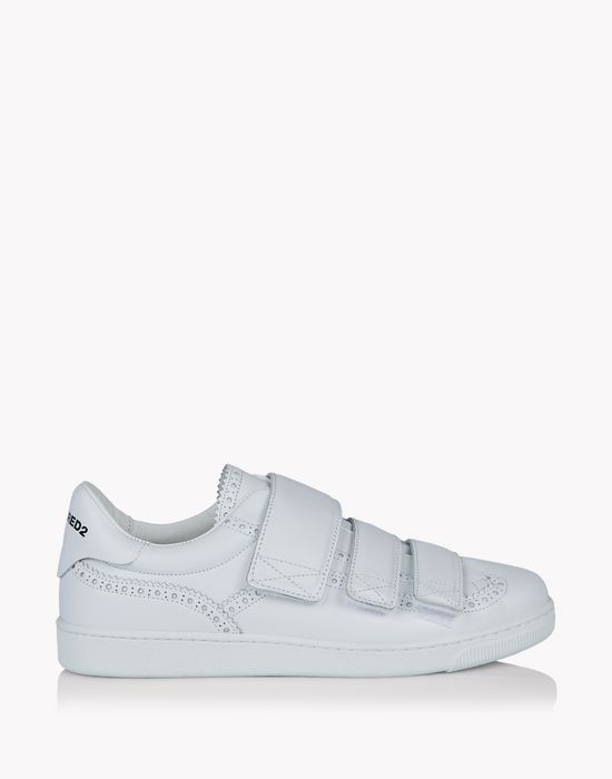 santa monica strap sneakers shoes Man Dsquared2