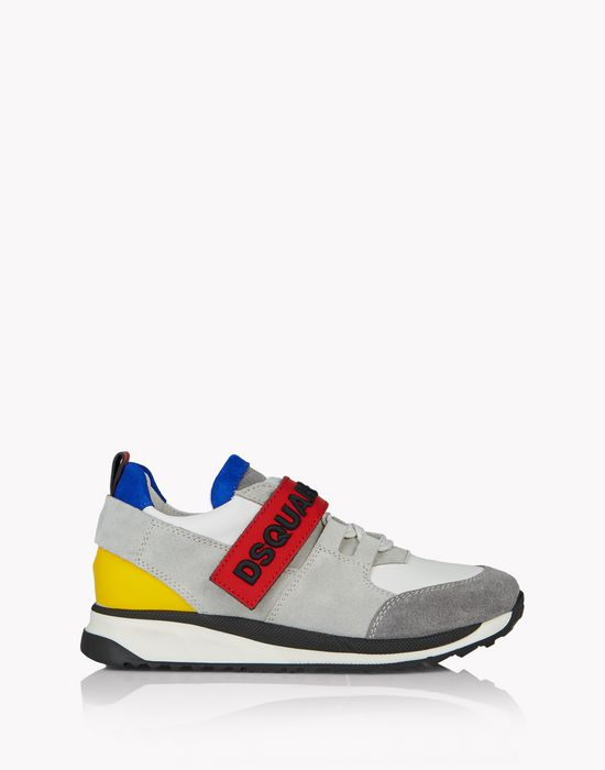 d2 strap sneakers shoes Man Dsquared2
