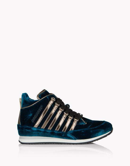 new runners high-top sneakers calzado Mujer Dsquared2