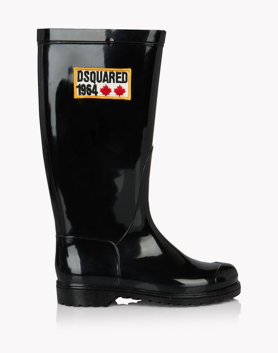 d2 1964 rubber boots calzado Mujer Dsquared2