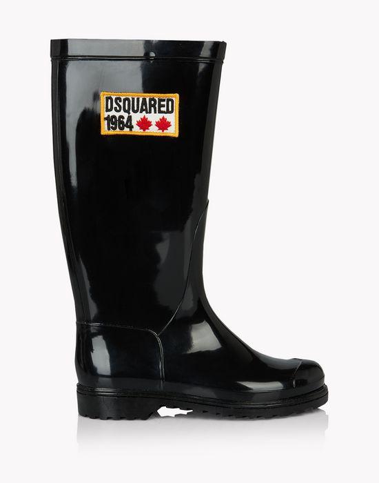 d2 1964 rubber boots schuhe Damen Dsquared2