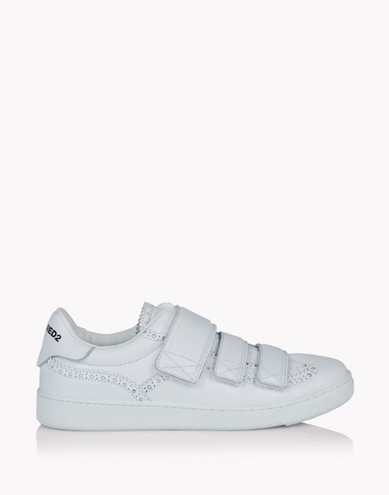 santa monica strap sneakers shoes Woman Dsquared2