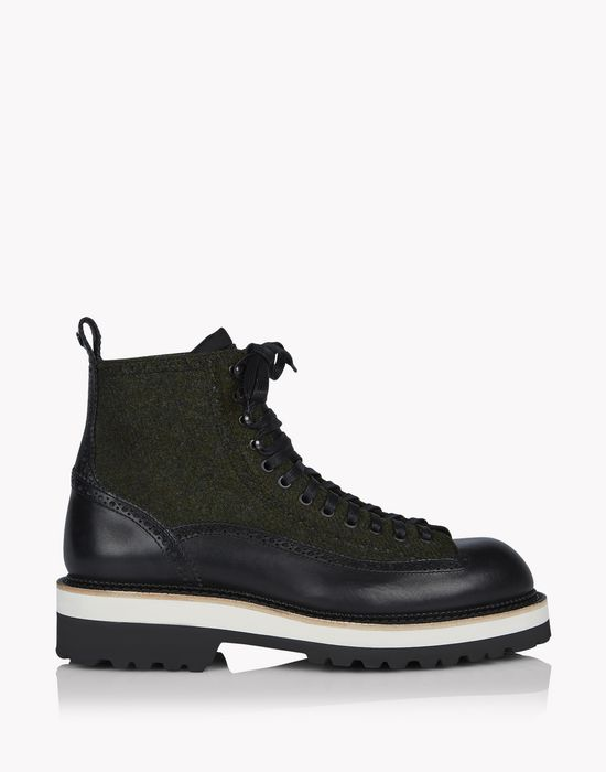 osaka ankle boots shoes Man Dsquared2
