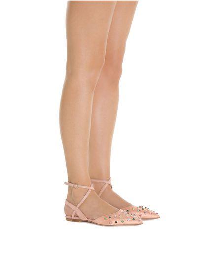 REDValentino 芭蕾鞋 女士 PQ2S0A16BCY C03 a