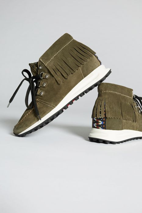 safari métis sneakers shoes Man Dsquared2