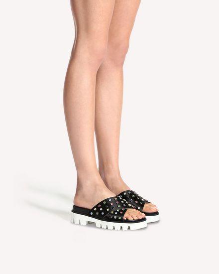 REDValentino Sandal Woman PQ2S0A21BCY 0NO a