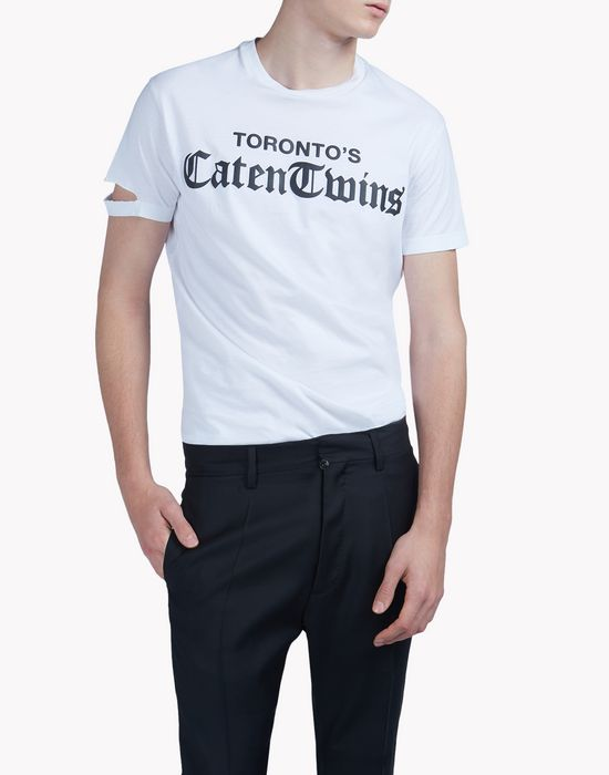 caten twins t-shirt camisetas y tops Hombre Dsquared2