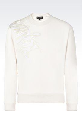 Armani Sweatshirts Men t-shirts and sweatshirts