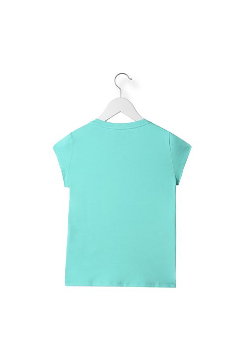 T-SHIRT IN COTONE STRETCH : T-Shirt Donna by Armani - 2