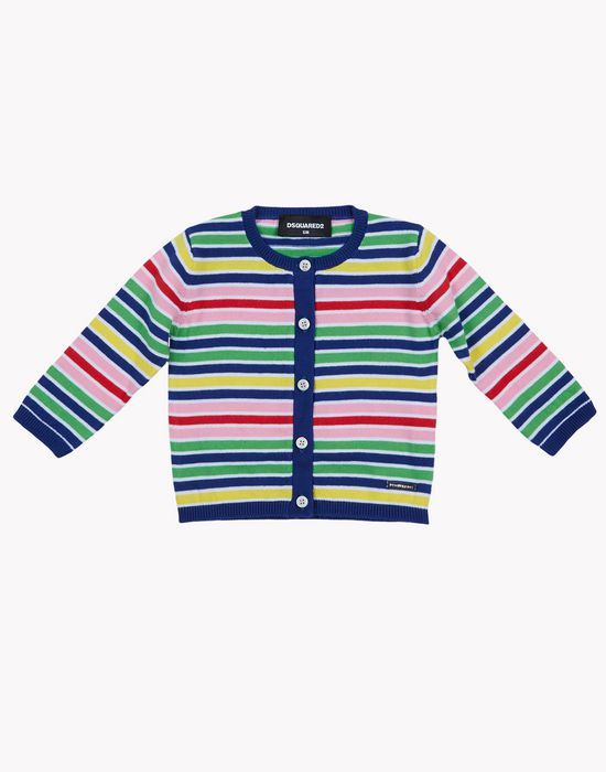 striped cardigan tops & tees Woman Dsquared2