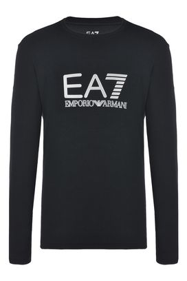 Armani T-Shirt manica lunga Uomo t-shirt in cotone stretch