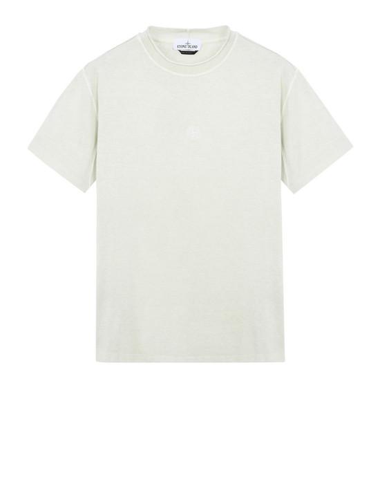 STONE ISLAND Short sleeve t-shirt 20242 'FISSATO' DYE TREATMENT
