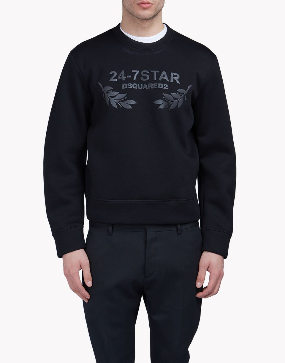 24-7 star sweatshirt top wear Man Dsquared2