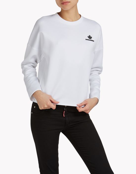 jersey sweatshirt top wear Woman Dsquared2