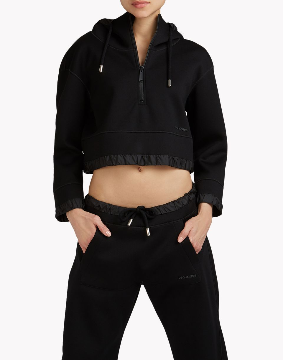 techno fit sweatshirt tops & tanktops Damen Dsquared2