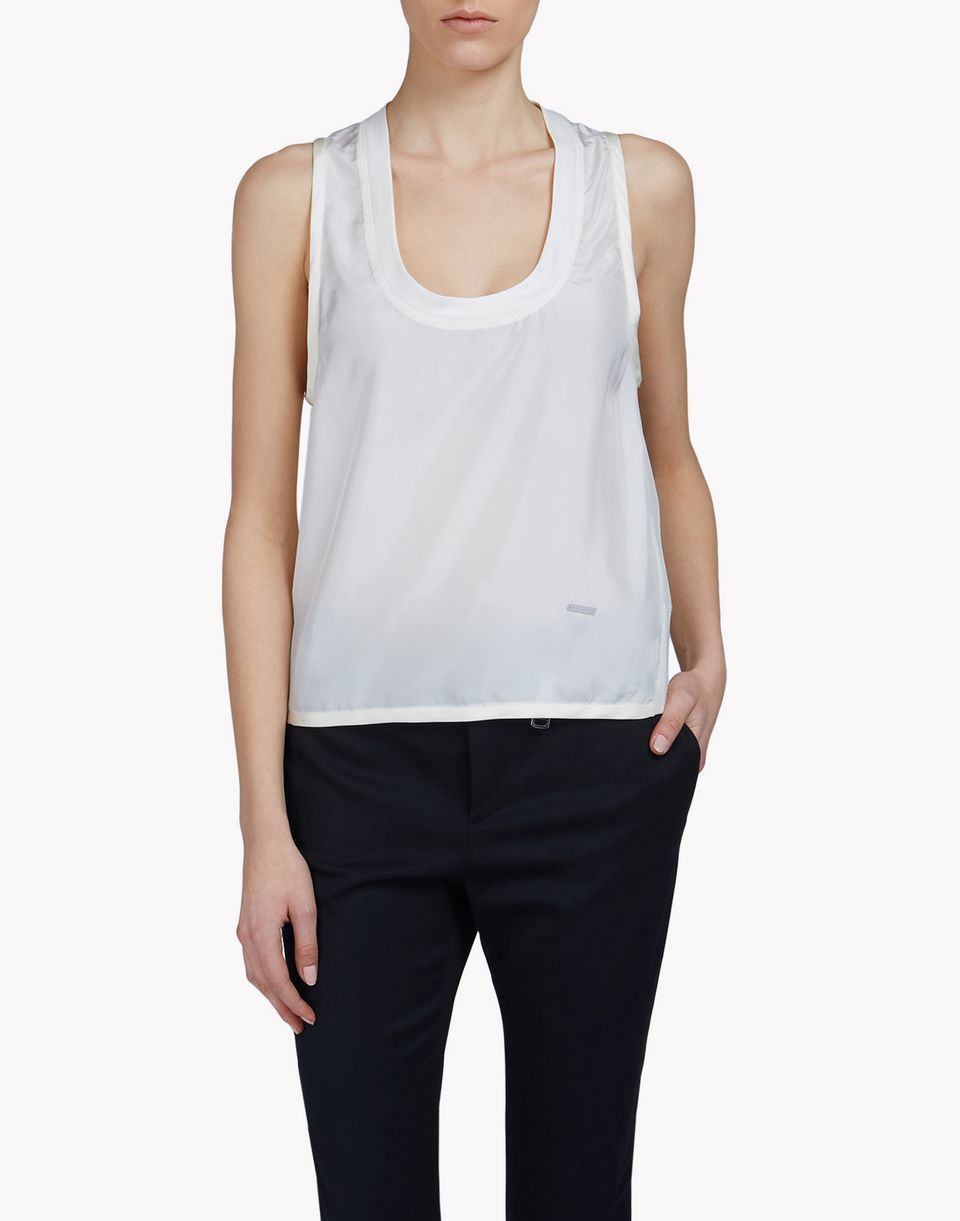silk top tops & tanktops Damen Dsquared2