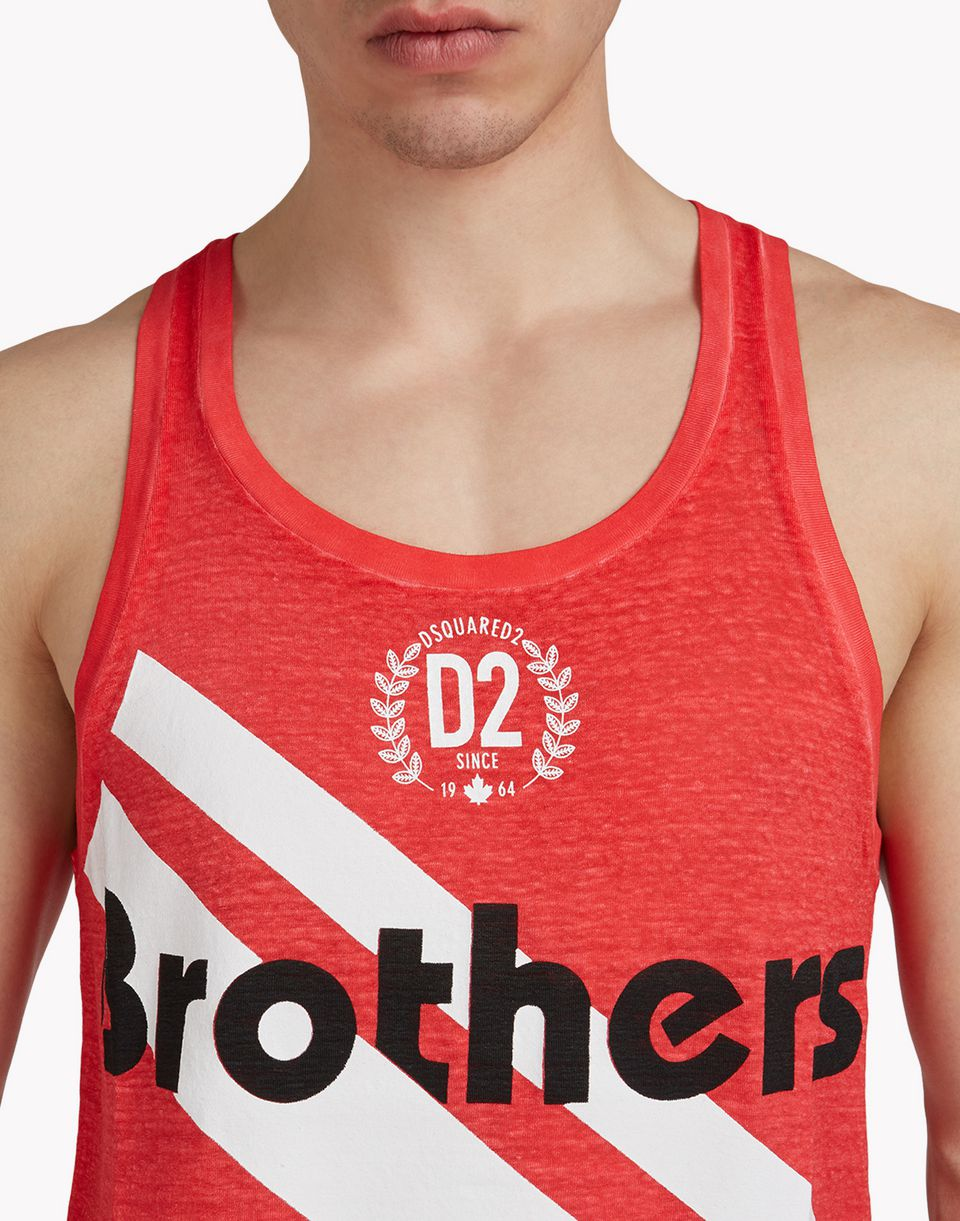 brother tank top top wear Man Dsquared2