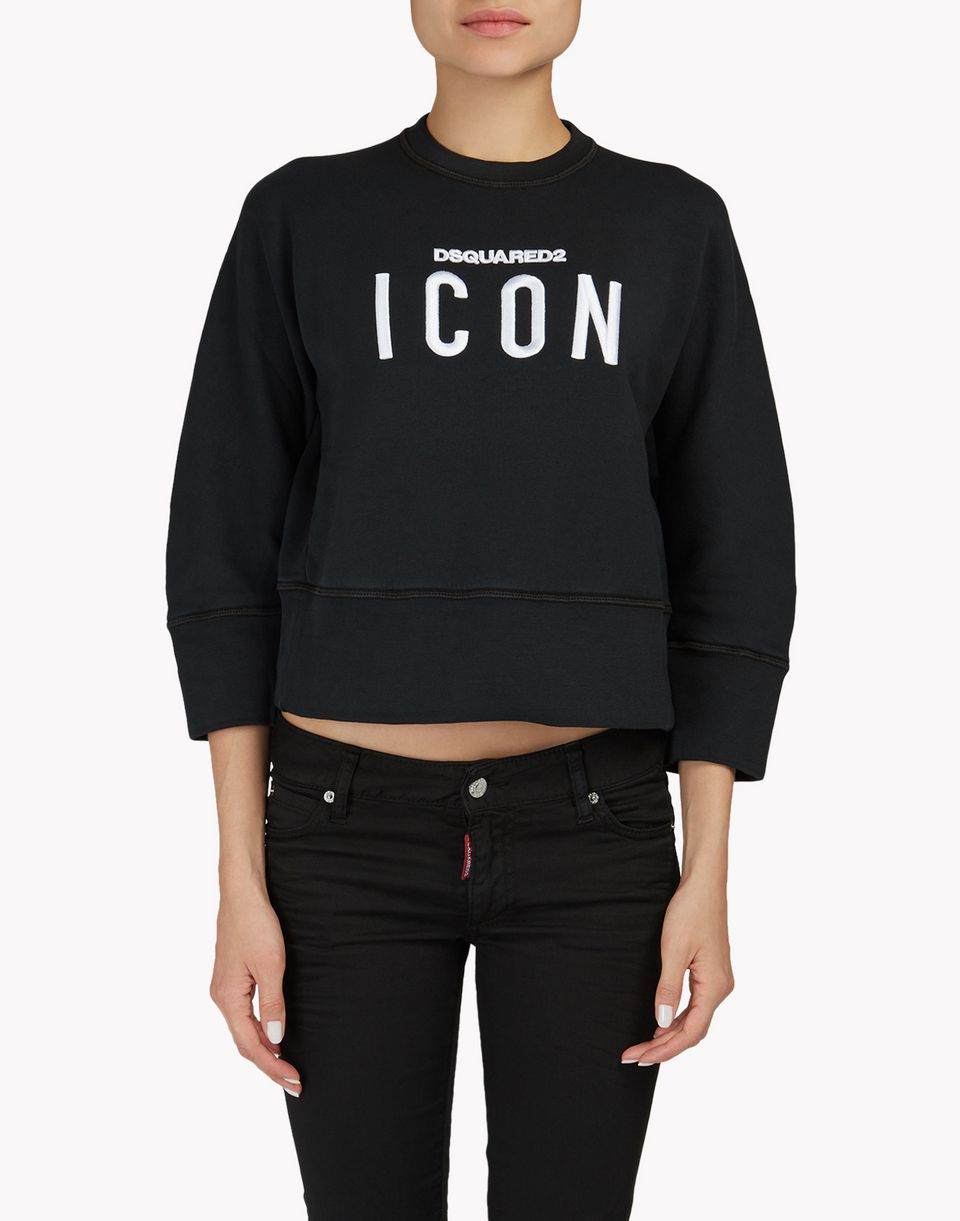 icon sweatshirt top wear Woman Dsquared2