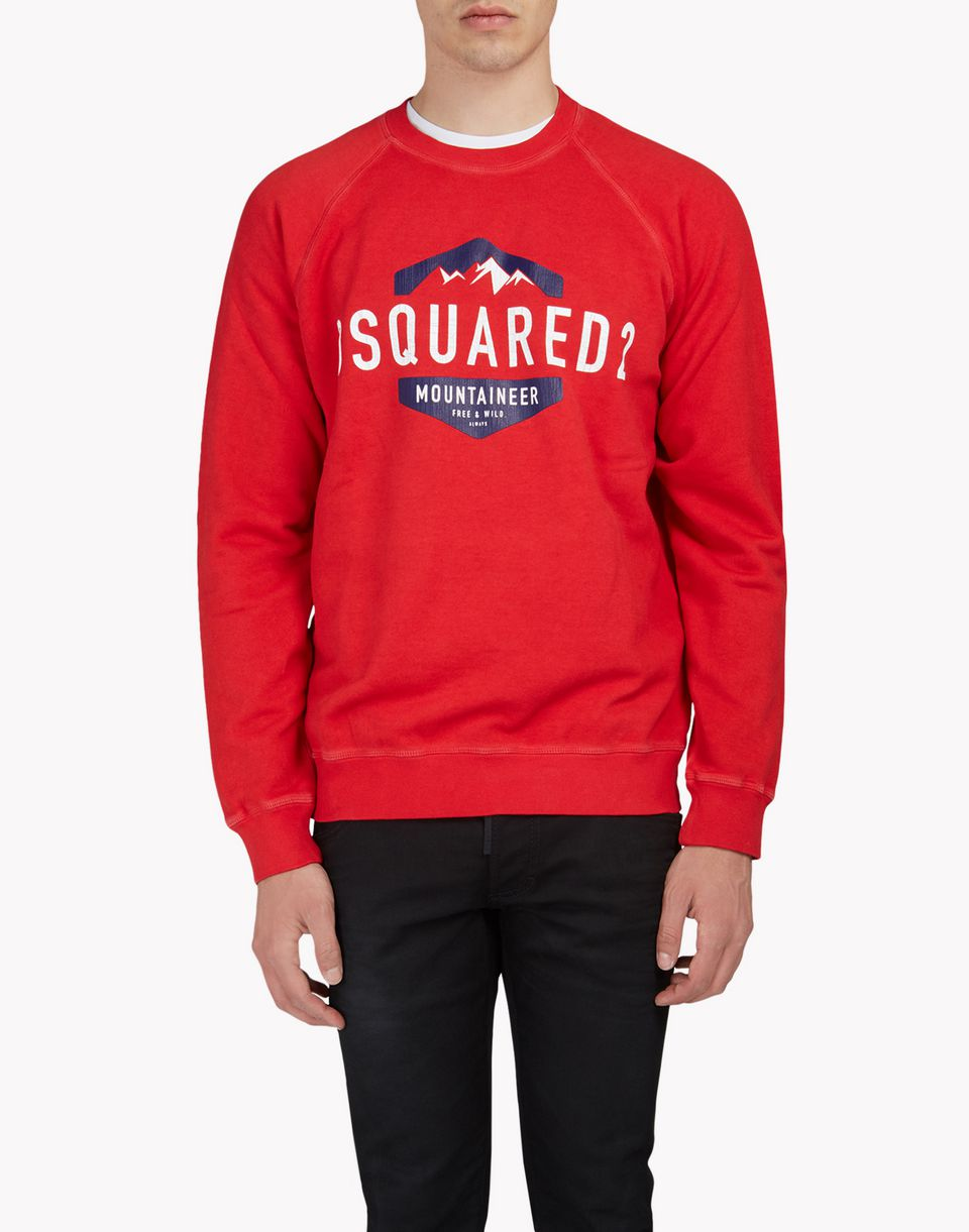 d2 mountaineer sweatshirt tops & tees Man Dsquared2