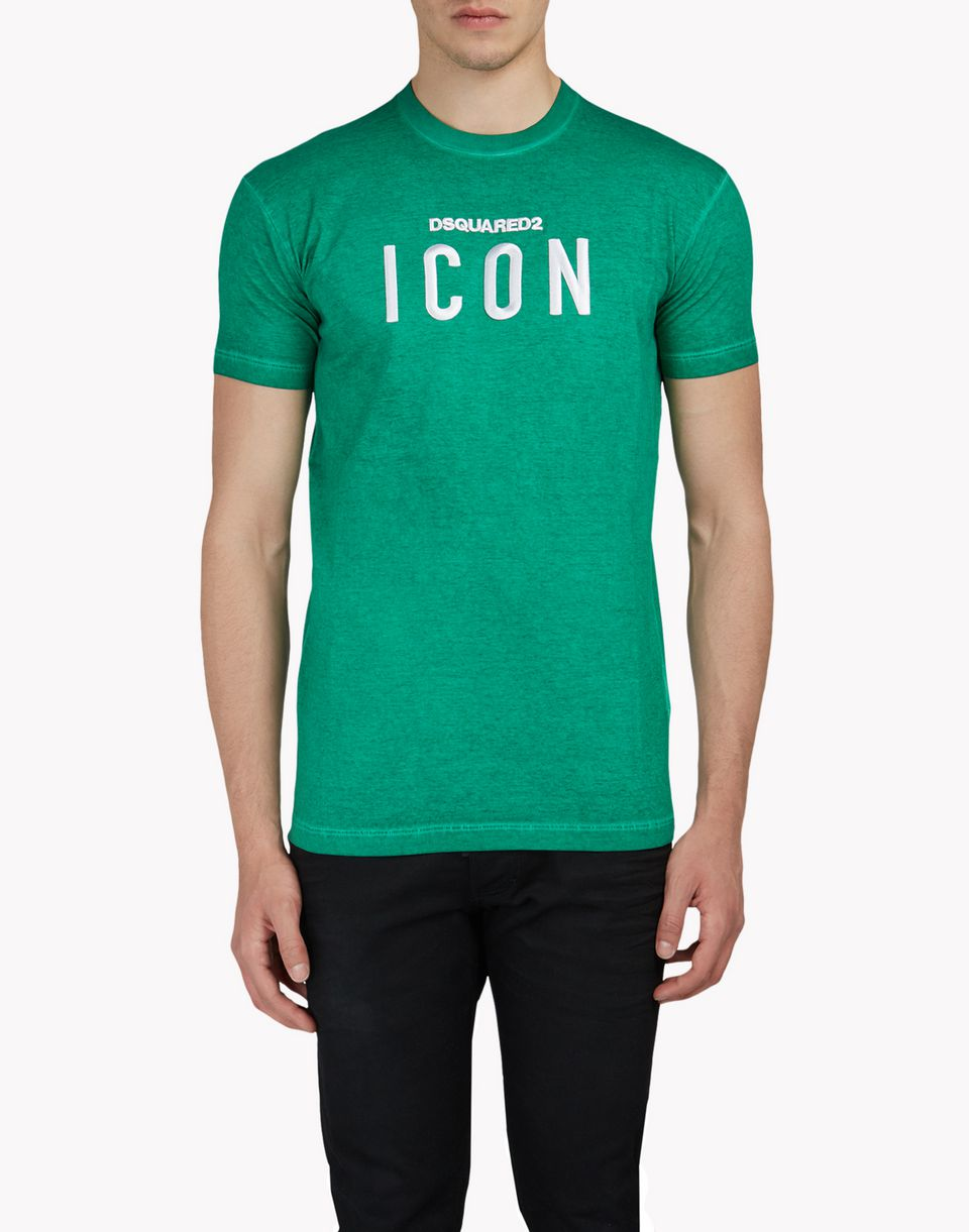 icon t-shirt tops & tees Man Dsquared2