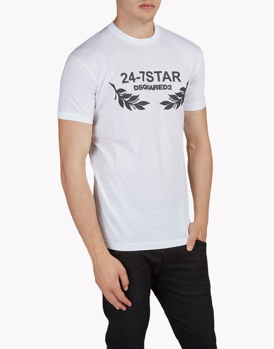 24-7 star t-shirt tops & tanktops Herren Dsquared2