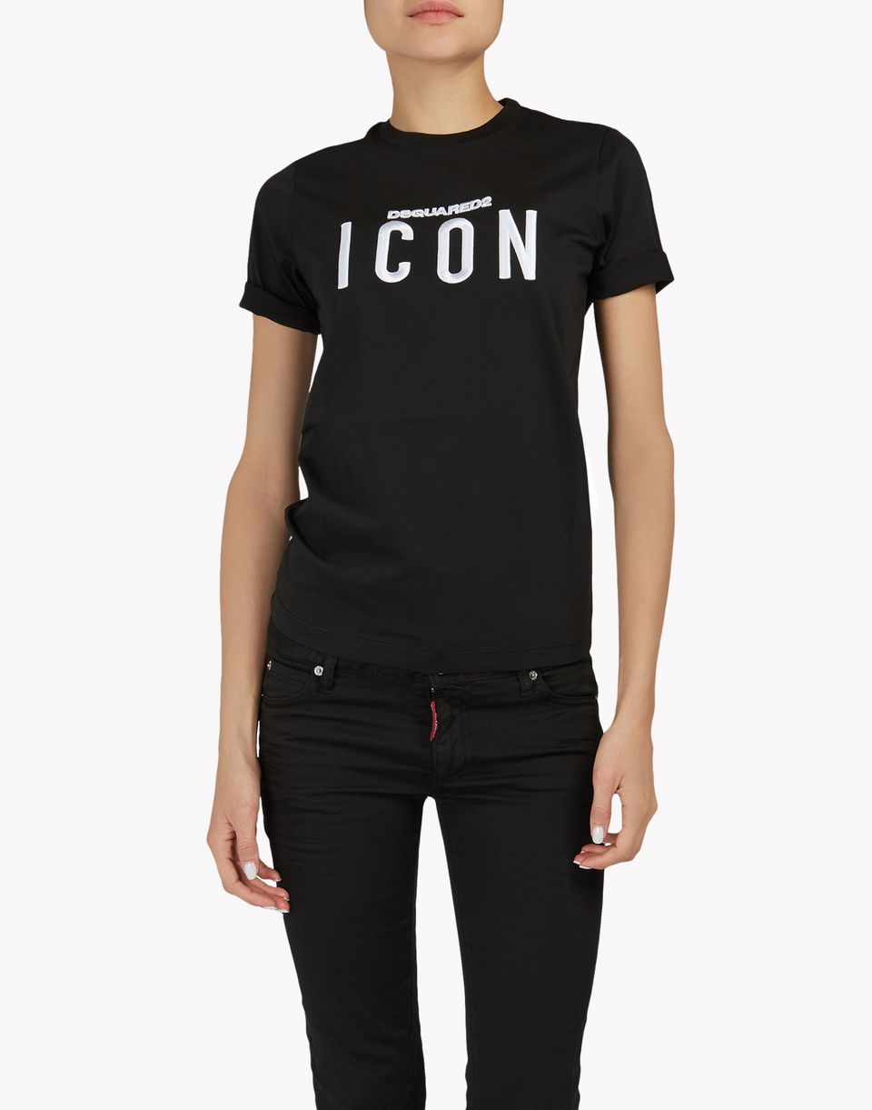 icon t-shirt top wear Woman Dsquared2