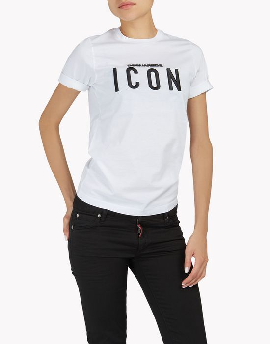 icon t-shirt camisetas y tops Mujer Dsquared2