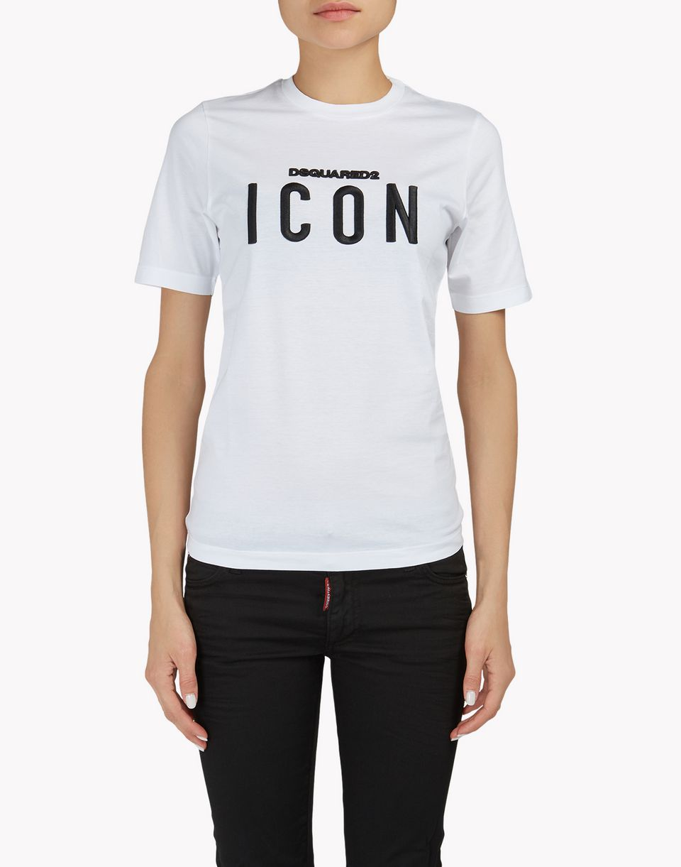 icon t-shirt tops & tees Woman Dsquared2